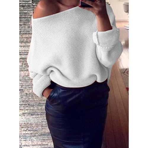 Sweter Lisa White