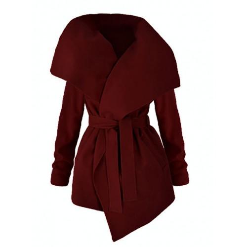 Płaszcz Flausz Red