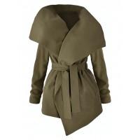 Płaszcz Flausz Olive