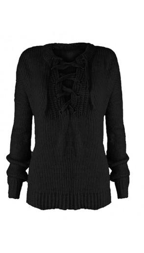 Sweter Over Black