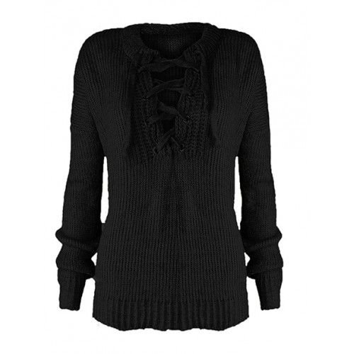 Sweter Over Black