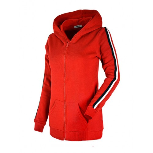 Bluza Tommy Zip Red