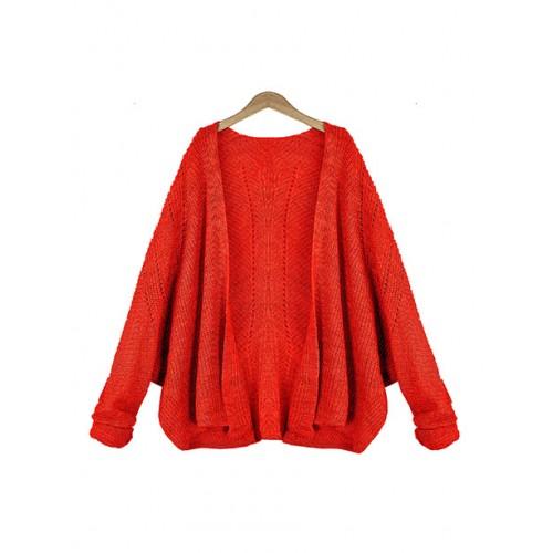 Sweter Kardigan Shiny Coral