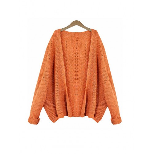 Sweter Kardigan Shiny Brick