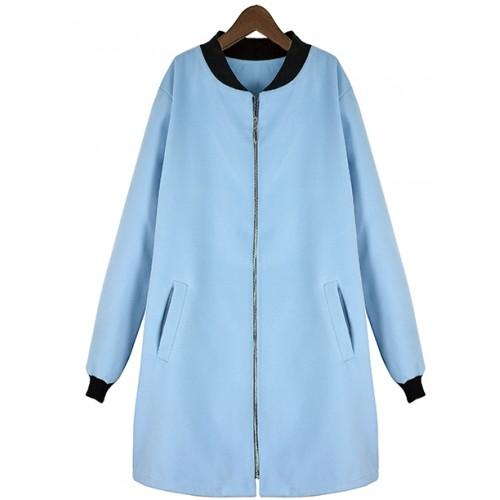 Płaszcz Flausz Milano Baby Blue