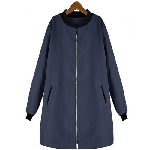 Płaszcz Flausz Milano Navy Blue