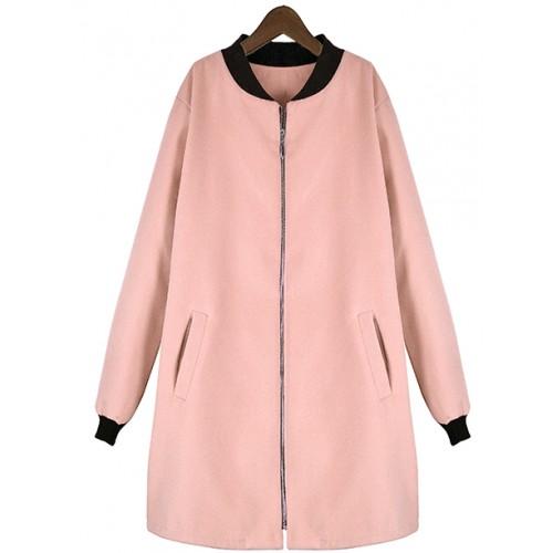 Płaszcz Flausz Milano Blush