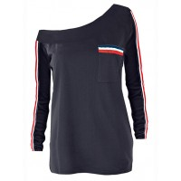 Bluzka Tommy Navy Blue