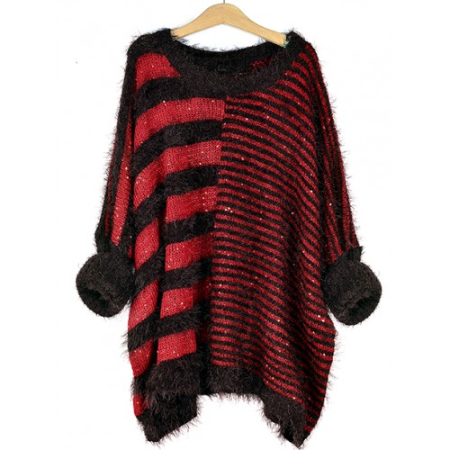 Sweter Fluffy Red