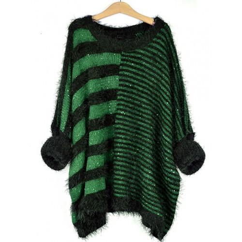 Sweter Fluffy Green