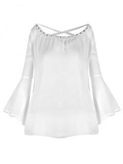 Bluzka Perły Biała
