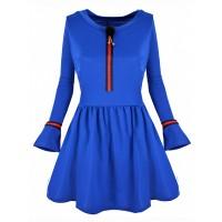 Sukienka Brooch Cobalt