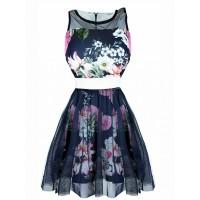 Sukienka Spring Navy Blue