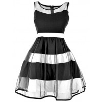 Sukienka Tiul Black