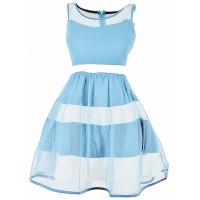 Sukienka Tiul Baby Blue