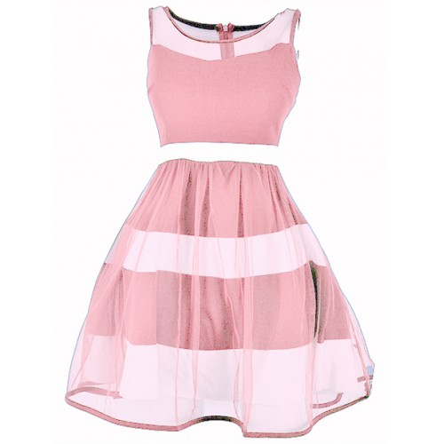 Sukienka Tiul Blush