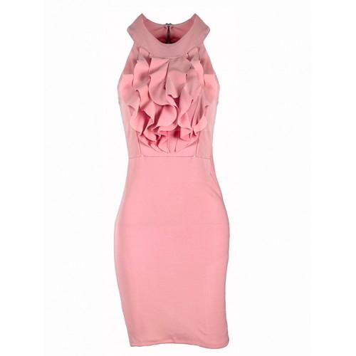 Sukienka Żabot Blush