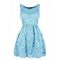 Sukienka Koroneczka Baby Blue