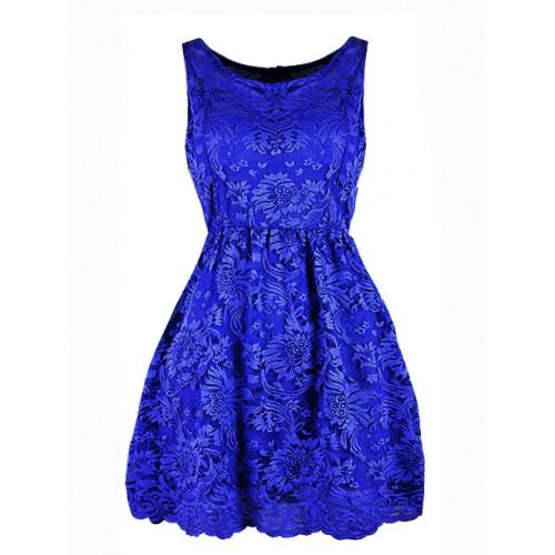 Sukienka Koroneczka Cobalt