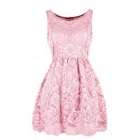 Sukienka Koroneczka Pink