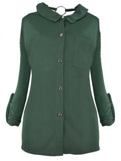 Bluzka Kieszonka Emerald