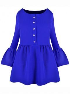 Bluzka Emi Cobalt
