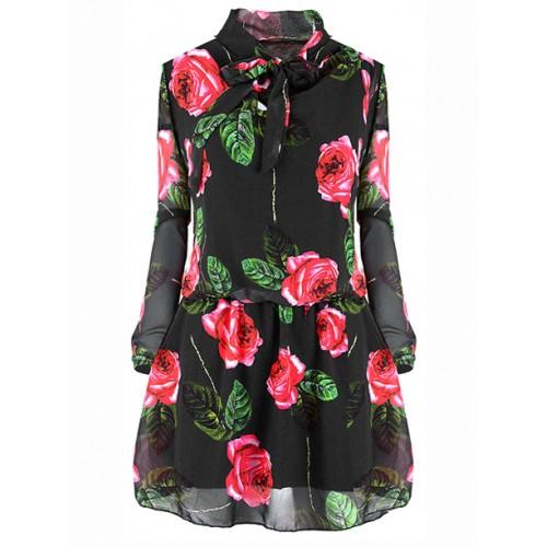 Sukienka Roses Black