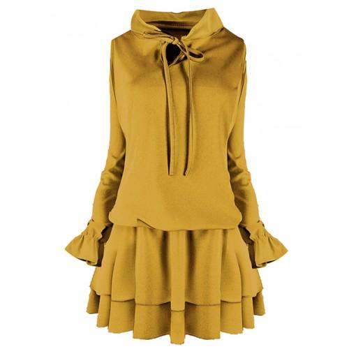 Sukienka Emi Miodowa
