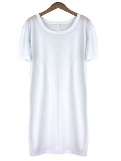 Bluzka Basic Biała