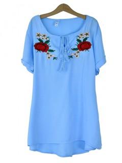 Bluzka Handmade Blue