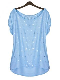 Bluzka Glam Stars Blue