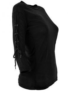 Bluzka Wiązana Black