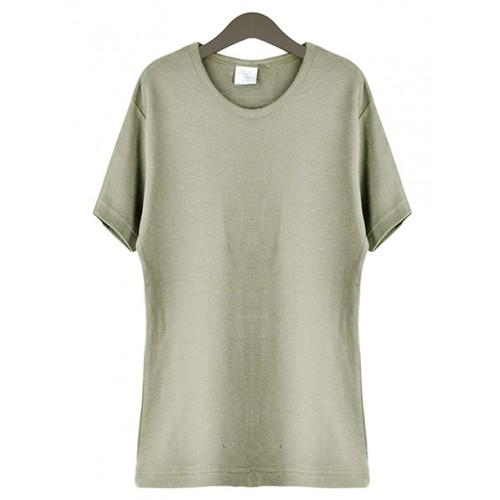 Bluzka T-shirt Khaki