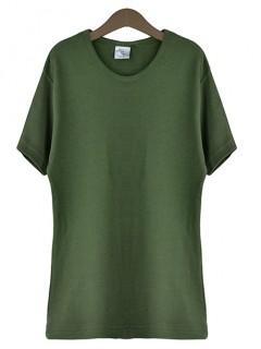 Bluzka T-shirt Olive