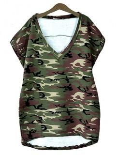 V-neck Army Moro