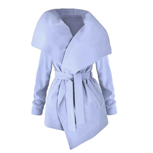 Płaszcz Flausz Light Blue