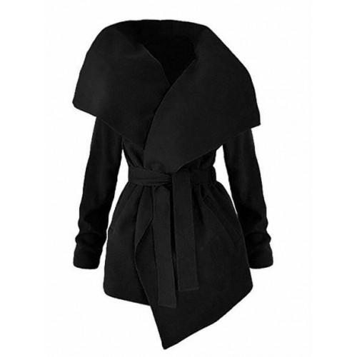 Płaszcz Flausz Black