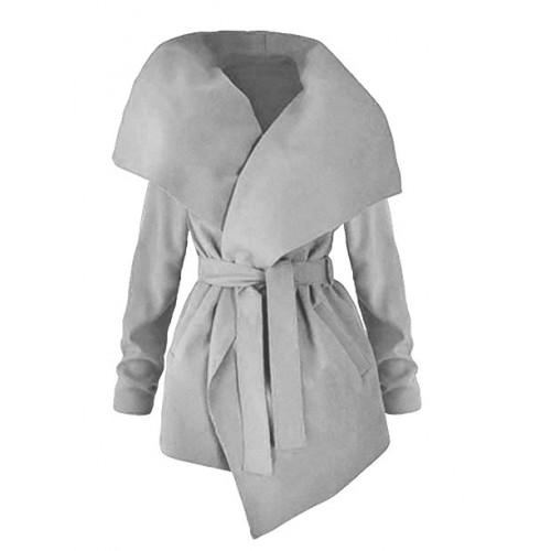 Płaszcz Flausz Grey