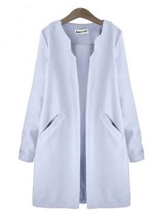 Płaszcz Premium Błękit