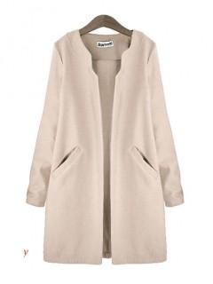Płaszcz Premium Nude