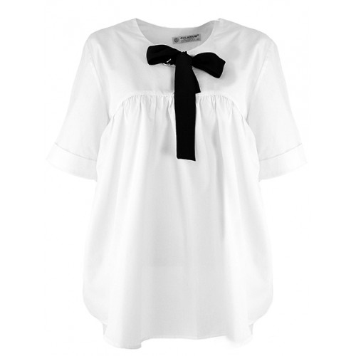 Bluzka Koszula Kokarda White