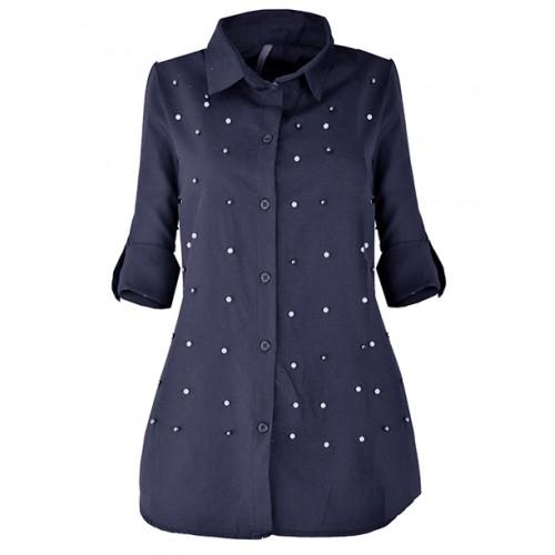 Koszula Atena Navy Blue