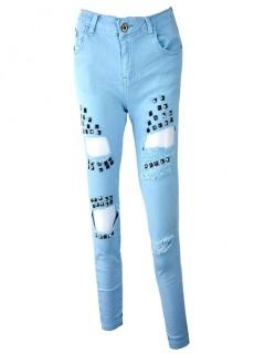 Spodnie 3D Blue