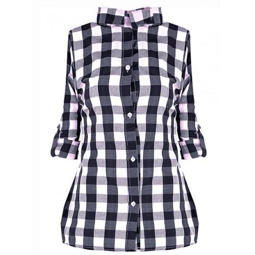 Koszula Krata Black&White