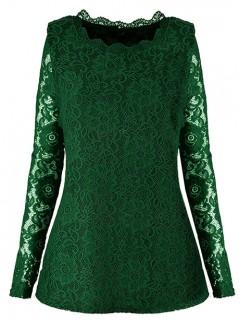 Bluzka ANABELLE Green