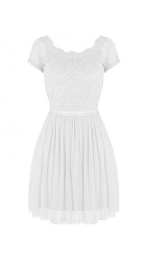Sukienka Koroneczka White