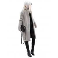 Płaszcz Premium Szary