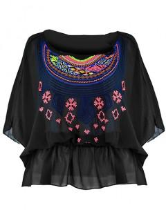 Bluzka Kimono Black
