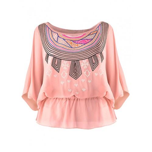 Bluzka Kimono Peach