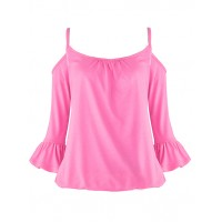 Bluzka Carmen Neon Pink